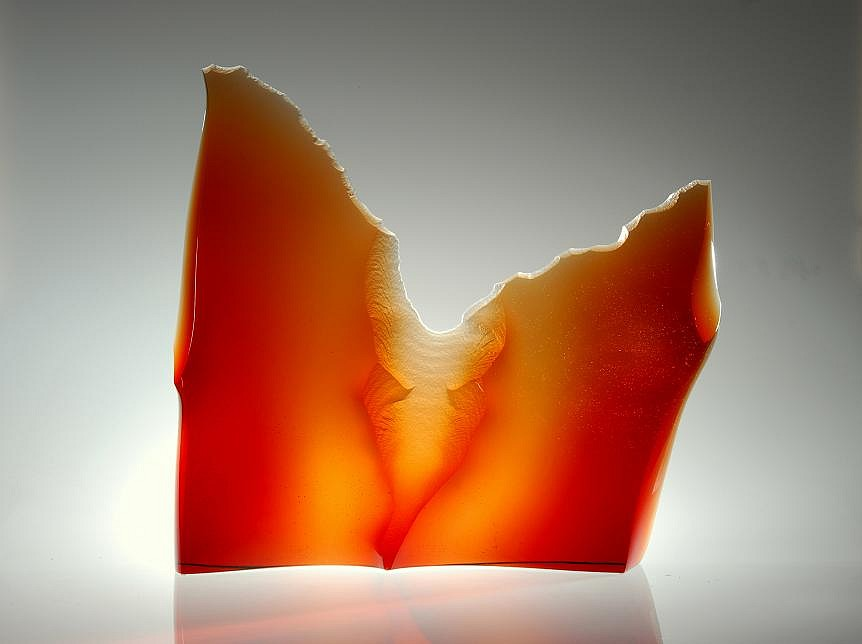 Peter Bremers, Canyons & Deserts 56, Grand Canyon 2010, Glass